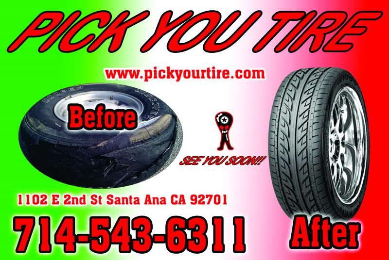 PICK YOUR TIRE